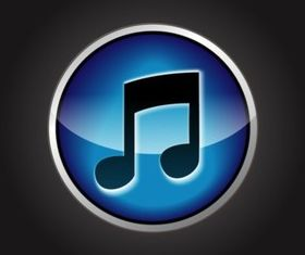 Music Icon vectors graphics
