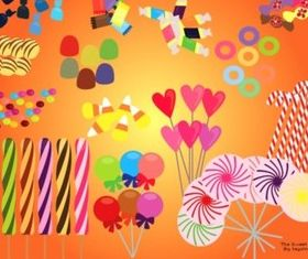 Colorful candy Illustration vector