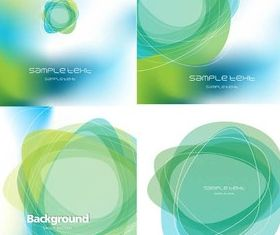 Abstract green background vectors graphic