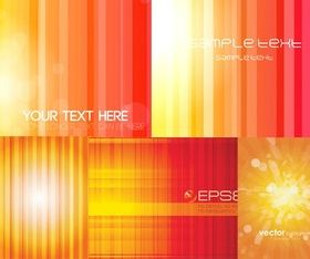 Gorgeous colorful striped background vector
