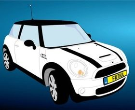 Free Mini Cooper Car vector