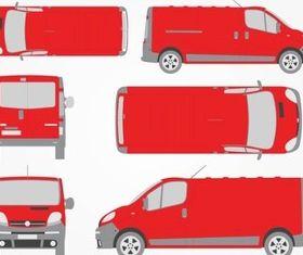 Opel Vivaro design vectors