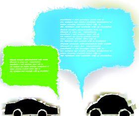 Tear Paper text cloud 5 vectors graphics
