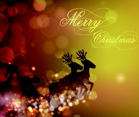 Christmas Halation background 1 vector