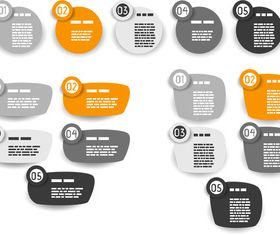 Labels number vector