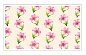 Lily patterns vector