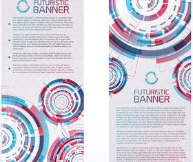 Futuristic Technology banner vector