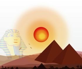 Egyptian History vectors graphics