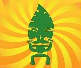 Polynesian Symbol design vector