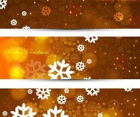 Xmas Banners free vectors graphics