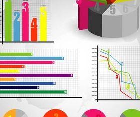 Business Diagrams vector