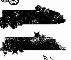Grunge Elements vectors material