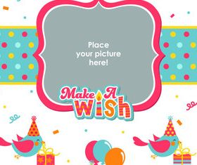 Birthday background graphics 1 vector graphics