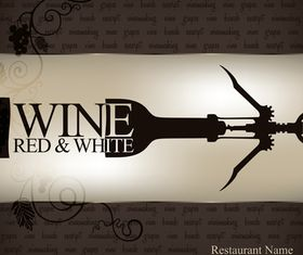 Wine vintage background 1 design vectors