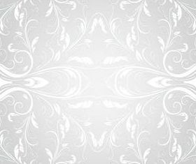 Wallpaper floral pattern vectors