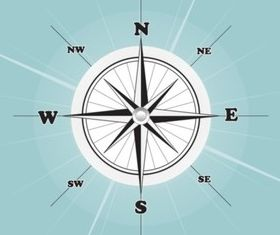 Compass Rose vector graphics