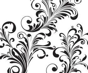 Floral Elements art vector design