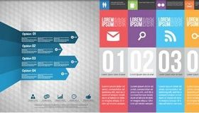 Infographic Backgrounds art vectors