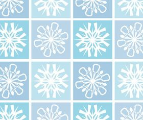 Snowflakes patterns 1 vector