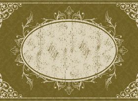 Floral frames grunge background vector