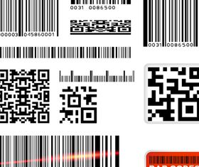 Bar codes vector graphics