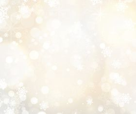 snowflakes and stars background vector