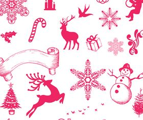Vector Christmas Objects shiny