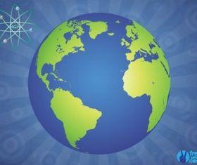 Glossy Globe vectors