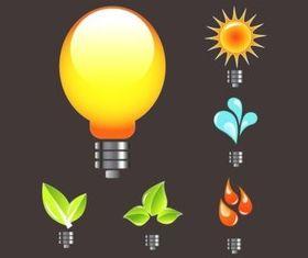 Ecology Logos vector