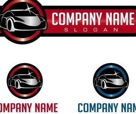 Cars Company Logos Illustration vector