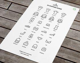 Clothes icons design vector