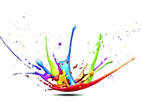 Color paint free 2 vector