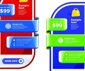 Shiny Corner labels 1 vector graphics