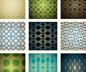 Luxury floral pattern 1 vectors
