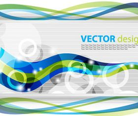 Dynamic wave background 1 vector