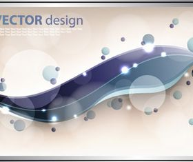Dynamic wave background 2 vector
