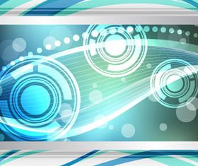 Dynamic wave background 3 vector