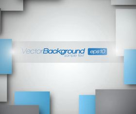 Rectangle squares 3d background 3 creative vector