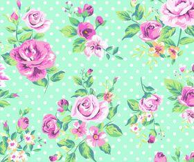 Flower pattern 1 vector