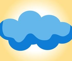 Cloud Icon vector graphics