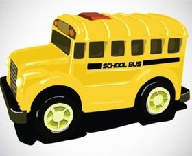 School Bus vector graphics