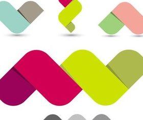 Shiny Color Logo vector
