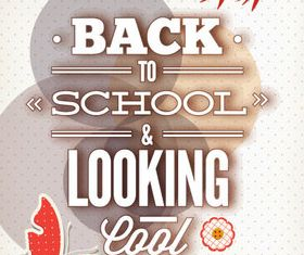 New school design backgrounds vector 03