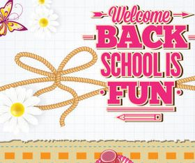 New school design backgrounds vector 09