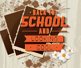 New school design backgrounds vector 10