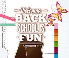 New school design backgrounds vector 11