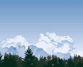Clouds Sky vector