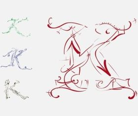 Letter Designs vector