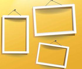 Photo frames 6 vector