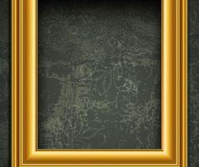 Retro photo frames 2 vector